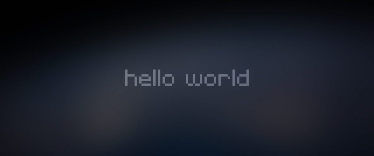 Hello World – Banniere