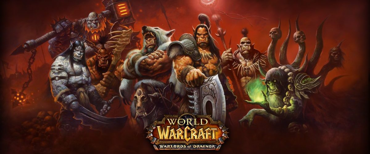 World of Warcraft : Warlords of Draenor – Banniere