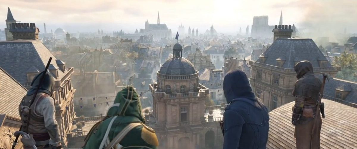 Assassin's Creed Unity – Banniere 2