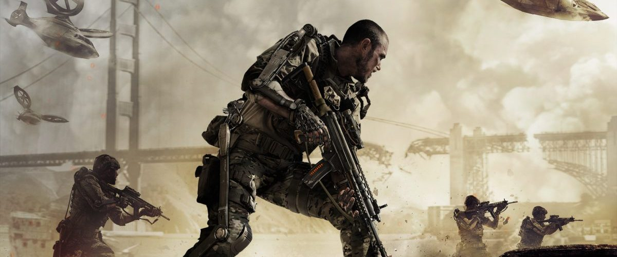 Call of Duty : Advanced Warfare – Banniere