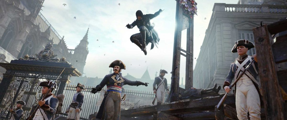 Assassin's Creed Unity Cinématique – Banniere