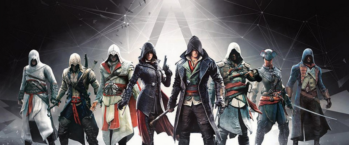 Personnages Assassin's Creed – Banniere