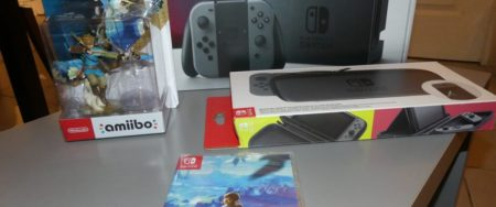 Arrivage Nintendo Switch – Banniere
