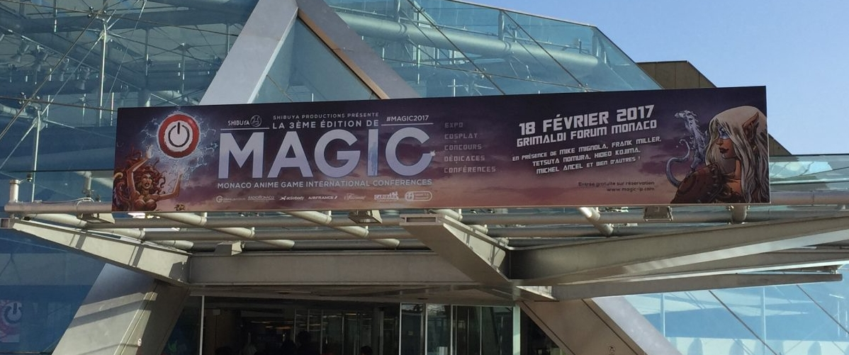 Magic Monaco 2017 Forum Grimaldi – Banniere