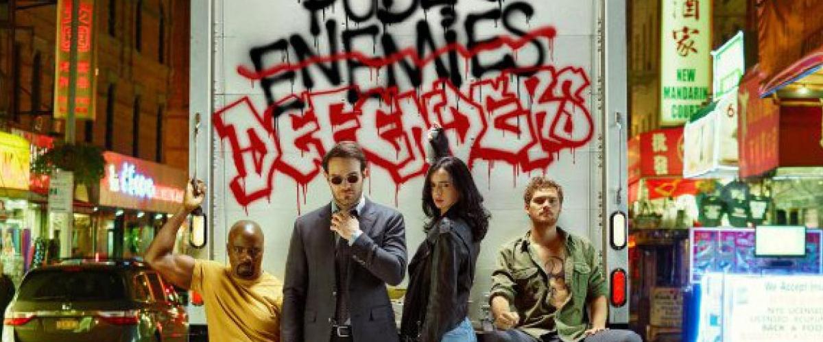 Netflix The Defenders – Banniere
