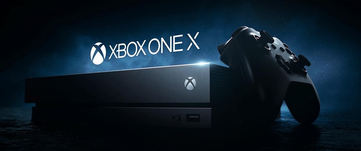 Xbox One X – Banniere