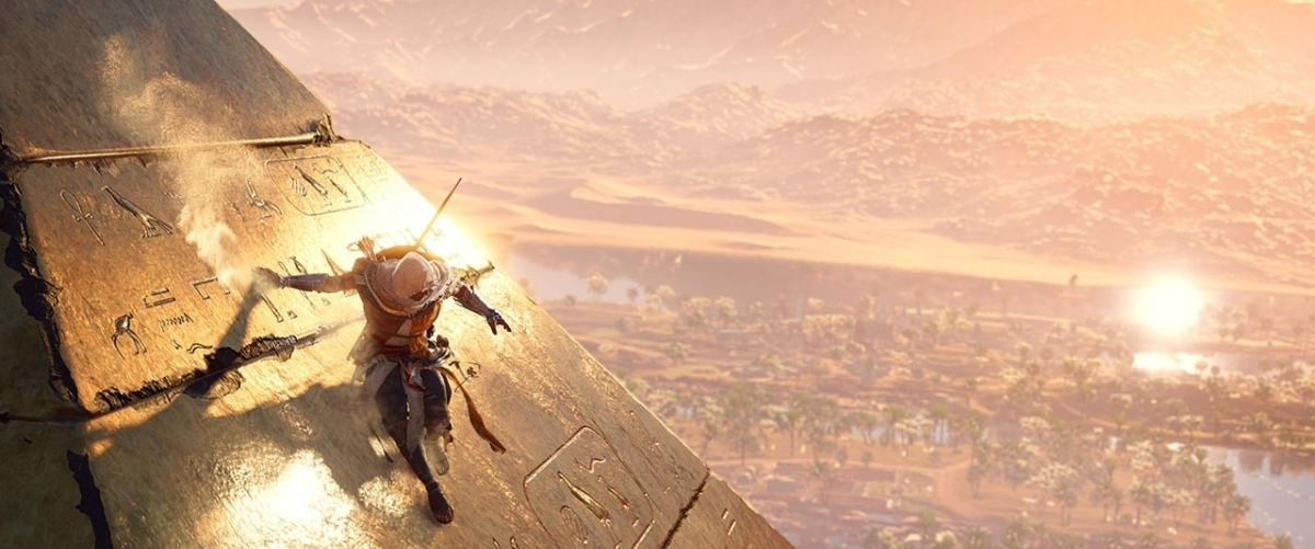 "Bannière - ""I AM"", le nouveau live action trailer d'Assassin's Creed Origins"