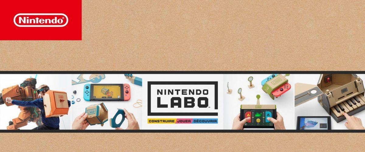 Nintendo Labo – Banniere