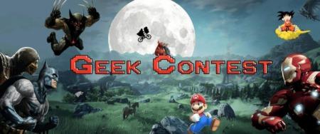 Geek Contest – Banniere