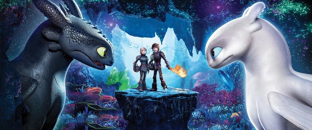 Dragons 3 : Le monde cache – Banniere