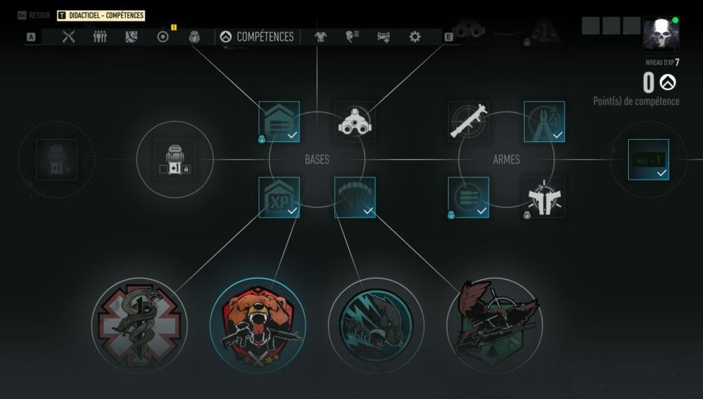 Ghost Recon Breakpoint - Compétences