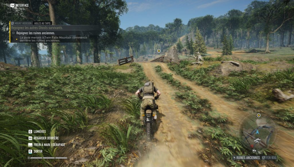 Ghost Recon Breakpoint - Moto